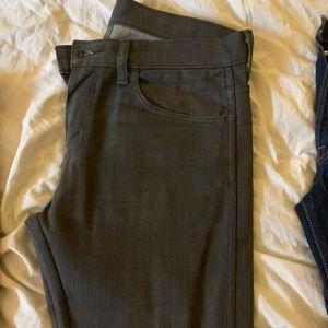 Men's Grey Levi Jeans